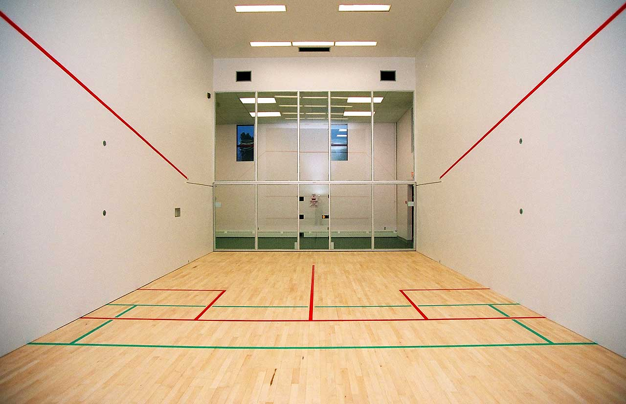 Pin squash court layout on pinterest for Average cost racquetball court